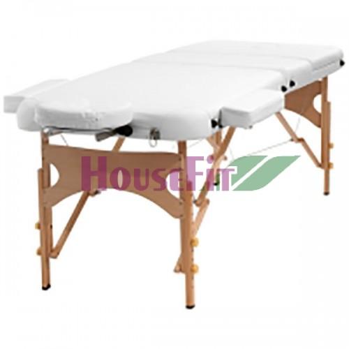 Массажный стол складной HouseFit (бежевый), код: HY30110BY