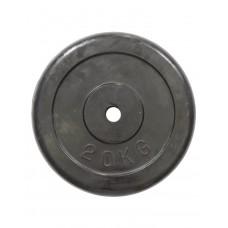 Диск обрезиненный HouseFit R-20 20 кг, код: K00000023047
