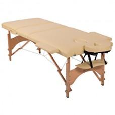 Массажный стол складной HouseFit (кремовый), код: HY30110C