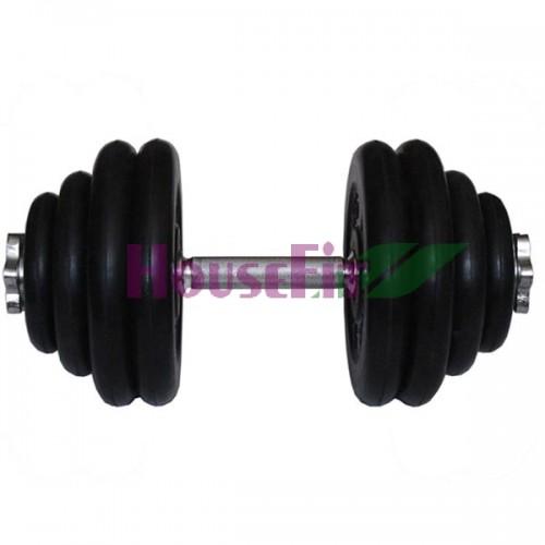 Гантель разборная HouseFit 20 кг, код: HSFR-20