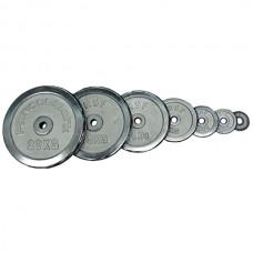 Комплект дисков HouseFit 108 кг (хром D=50 мм), код: DBC102