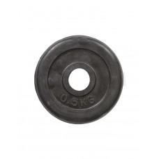 Диск обрезиненный HouseFit R-0,5 0,5 кг, код: 23035-HF