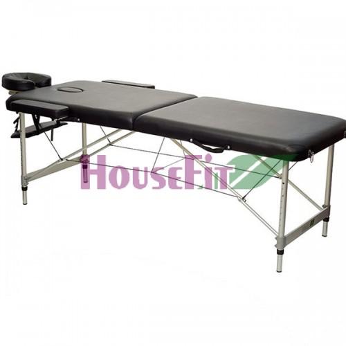 Массажный стол складной HouseFit (черный), код: HY20110B
