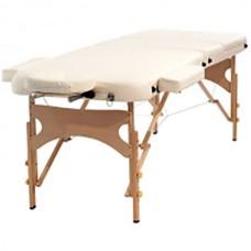 Массажный стол складной HouseFit (кремовый), код: HY30110BC