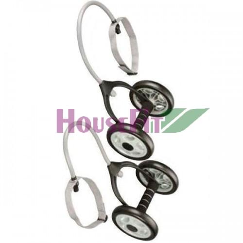 Гимнастические колеса с эспандерами HouseFit, код: DD6959