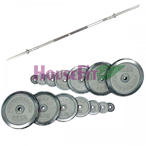 Штанга Home HouseFit Chrome 125 кг., код: SH-15