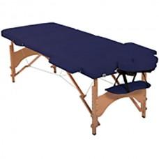 Массажный стол складной HouseFit (синий), код: HY30110DB